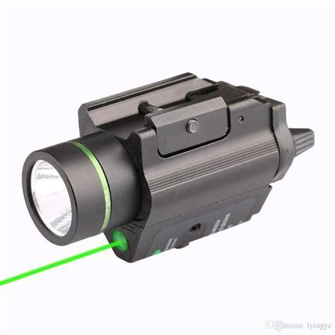 pistol laser light combo 2018 pistol light green laser combo sight 200 lumen for