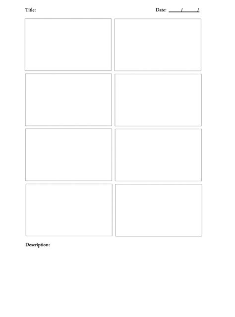 storyboard template download by draconianrain on deviantart