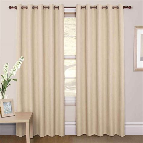 cream black curtains blackout curtain cream