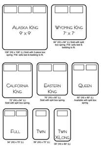 Bed Sizes Alaskan King Bed Size Chart I Cali King Now But Now I Want An