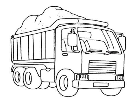 125 Dessins De Coloriage Camion 224 Imprimer Coloriage Transport Dessin Camion L
