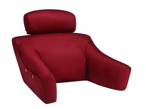 pillow bed chair bed lounge back rest reading pillow backs2beds ca bed