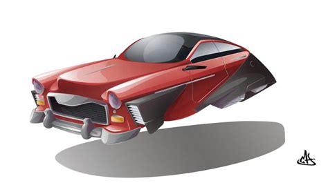 futuristic cars drawings flying concept car by mherrador deviantart com on