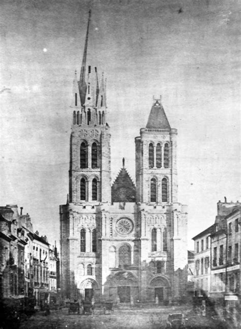 Building Plan by Ionarts Basilica Of St Denis To Have Its Tower Restored