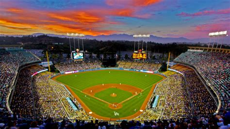 top  greatest moments  dodger stadium history discover los angeles