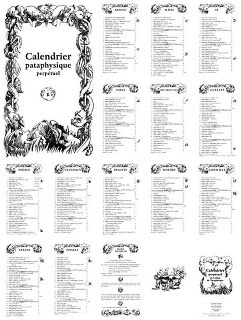 L'Outil - Le calendrier perpétuel de l'Institut de