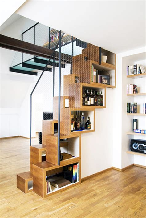 the stairs storage ideas 30 storage ideas for the stairs by freshome interior design architecture magazine
