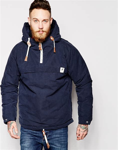 men s lyst fat moose sailor anorak in blue for men