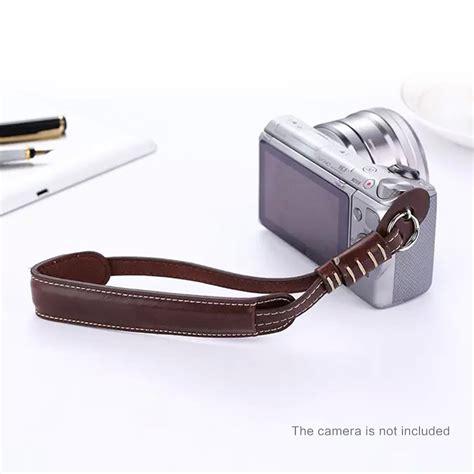 Wrist Pu Leather Lanyard For Dslr x5 m pu leather lanyard wrist for sony