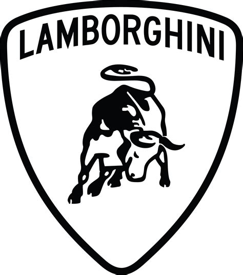 lamborghini logo black and white porsche logo vector search brands