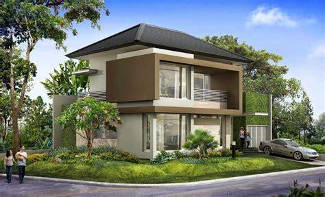 desain depan rumah natural ide desain taman depan rumah pojokan arsitektur
