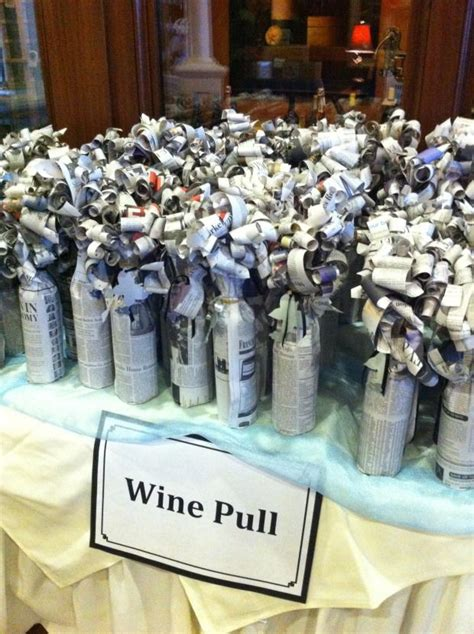 My Idea Is Expensive wine raffle idea a few expensive bottles mixed with