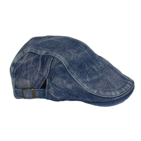 Pashmina Supernova Denim 100 Cotton Denim denim newsboy cotton jean gatsby cap hat golf driving