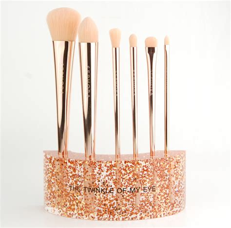 Brush Make Up Sephora sephora collection glitter happy brush set review swatch