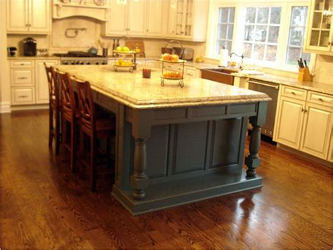 country style kitchen island thomas duggan woodworking island and cabinetry in french