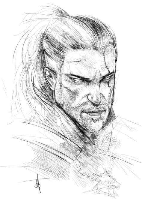Geralt of Rivia by muratgul on DeviantArt