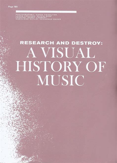 research and destroy a visual history of music clash