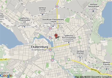 yekaterinburg map map of alexandrovsky park hotel yekaterinburg