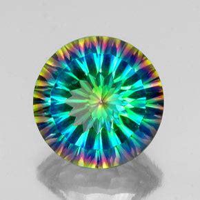 Mystic Quartz 10 10ct 9 1 carat top rainbow mystic quartz gem from brazil