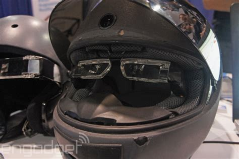 motorcycle helmet augmented reality this augmented reality motorcycle helmet could save your