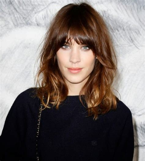 lob hair with side fringe 25 best ideas about lob bangs on pinterest long bob