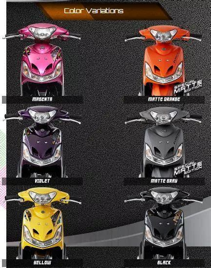 mio sporty color variations  ride  yamaha mio sporty