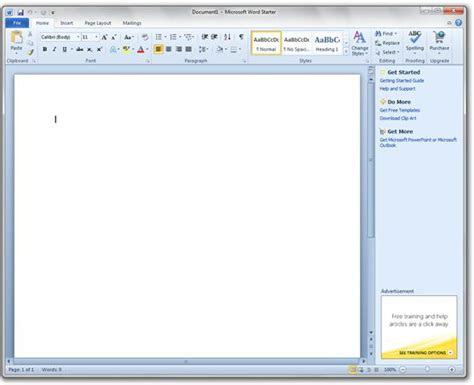 Microsoft Office Starter by Office Starter 2010 Beta With Office To Go