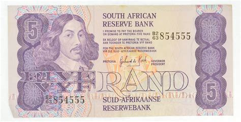 Win Money South Africa - great artwork south african rand bank note collectible currency property room