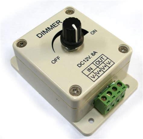 Led Strip Light Dimmer 12 Vdc 8 Ampere Carima Products Led Light Dimmer