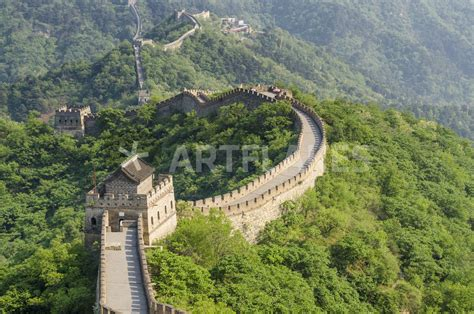 Beijing China Original quot the original mutianyu section of the great wall beijing china quot picture prints and