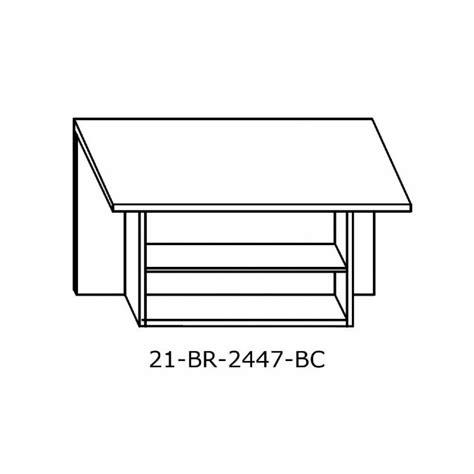 24 inch height bookcase 2300 rectangular bridge w bookcase 24 inch x 47 inch