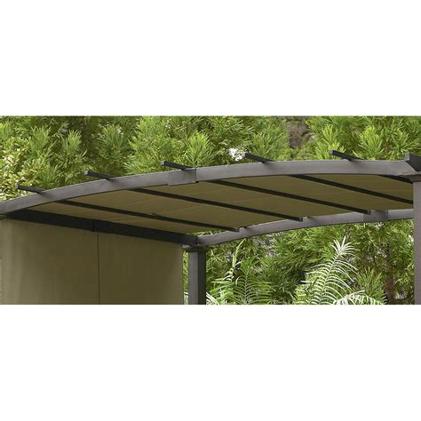 garden oasis curved pergola sears garden oasis curved pergola replacement canopy gf