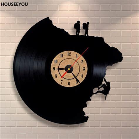 clock mechanisms for craft projects large home decor wall clocks vinyl record clock climbing