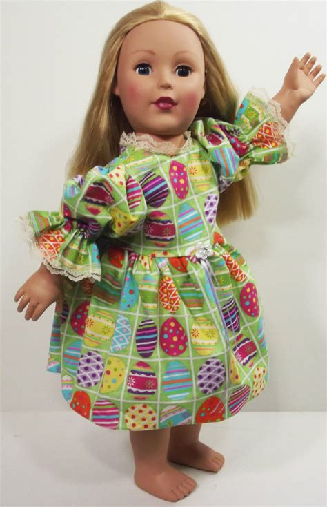 American Handmade Clothes - clothes american handmade green n dress 18 quot inch doll