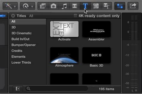 final cut pro how to add text pro tip add 3d text in final cut pro x