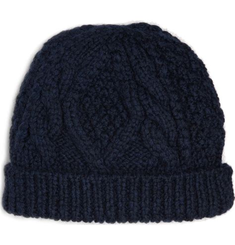 beanie hats to knit marc by marc cable knit beanie hat s accessories