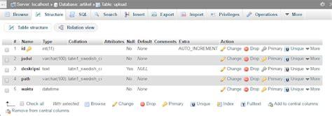 membuat upload file di php cara membuat form upload dan posting berita di halaman