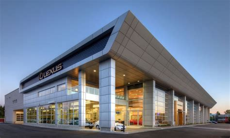 lexus dealership design openroad lexus richmond richmond auto mall