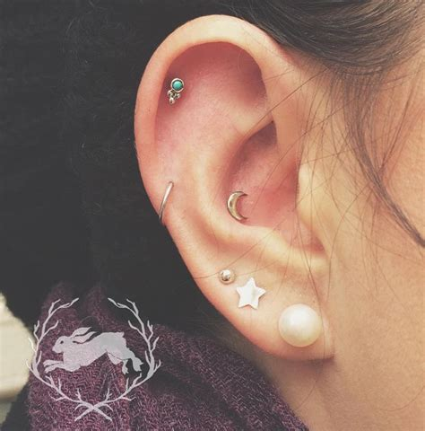 best 25 inner conch piercing ideas on outer