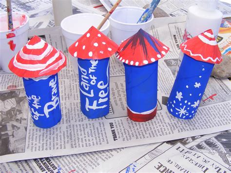 Toilet Paper Roll Crafts For Preschoolers - july fourth preschool crafts for 4th of july