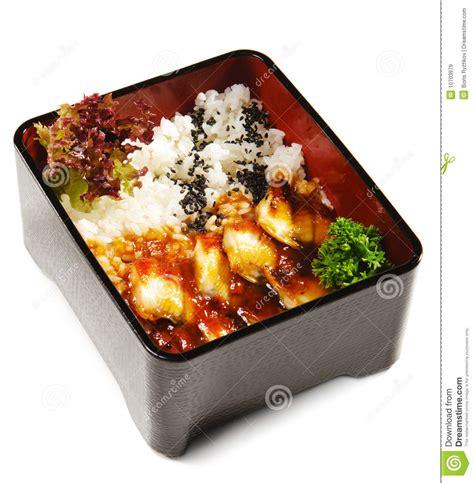 cuisine japonaise sant cuisine japonaise anguille frite images libres de droits