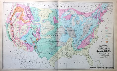 gray s atlas map of united states showing the principal