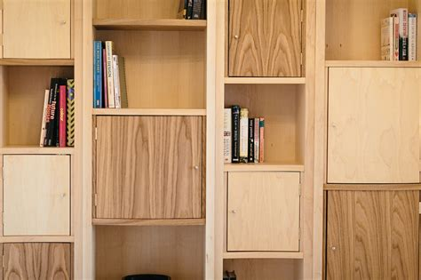 Cupboard Shelving - maple and oak bespoke shelving crafted and made to