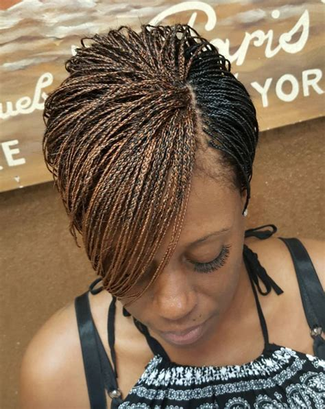 Micro Braid Hairstyles by 25 Best Ideas About Micro Braids On Micro