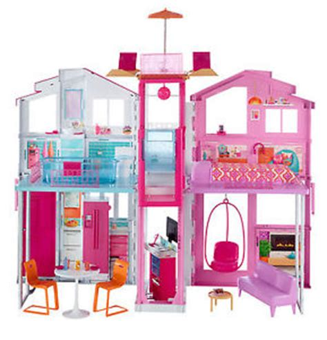 buy barbie dream house barbie 3 story dream house ebay