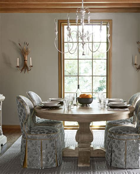 Transitional Chandeliers For Dining Room Salento 6 Light Chandelier Transitional Dining Room Dallas By Horchow