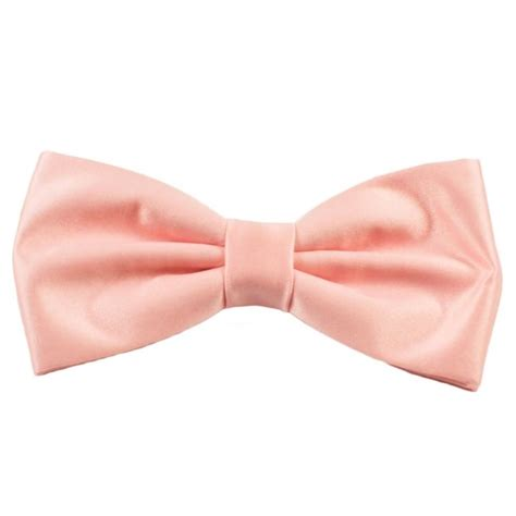 Plain Bow Tie plain pink bow tie from ties planet uk