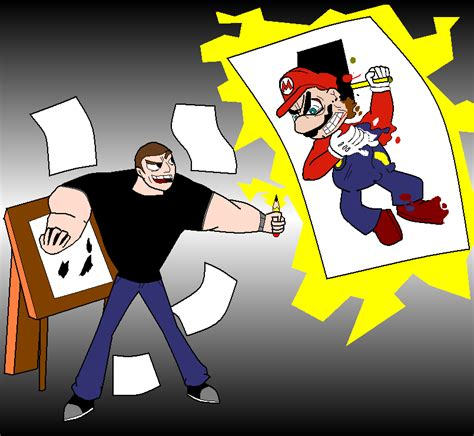 mario vs sebastian by mrpr1993 on deviantart