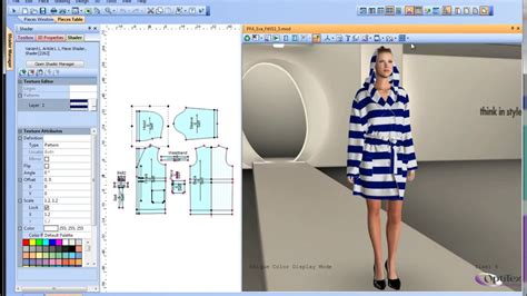 fabric draping software pattern cutting software 3d fashion design drape and