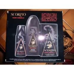 scorpio noir absolu coffret eau de toilette 75ml
